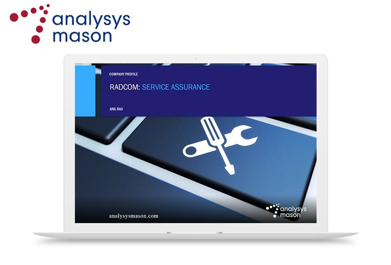 Download the RADCOM Company Profileby Analysys Mason