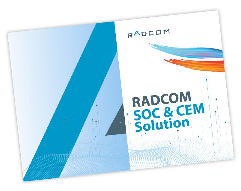 RADCOM SOC and CEM Solution