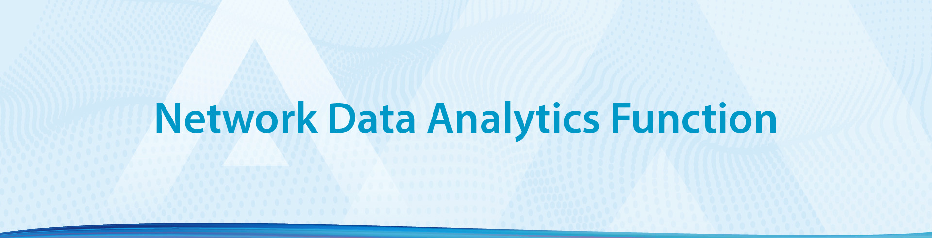 Network Data Analytics Function