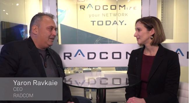 Yaron Ravkaie, talks to Light Reading at MWC 2018