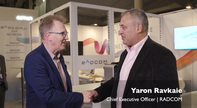 RADCOM CEO discusses 5G Assurance at MWC19