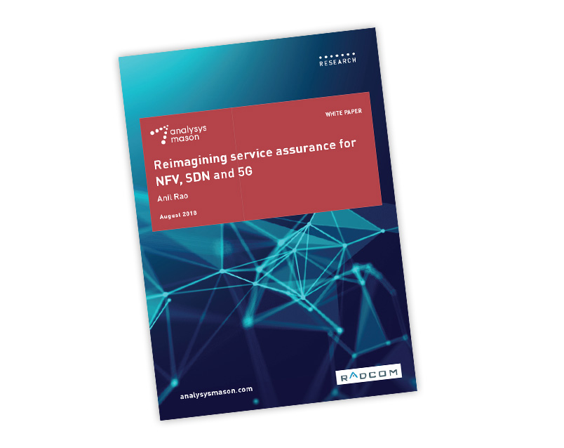 Analysys Mason's White Paper on re-imagining assurance for 5G