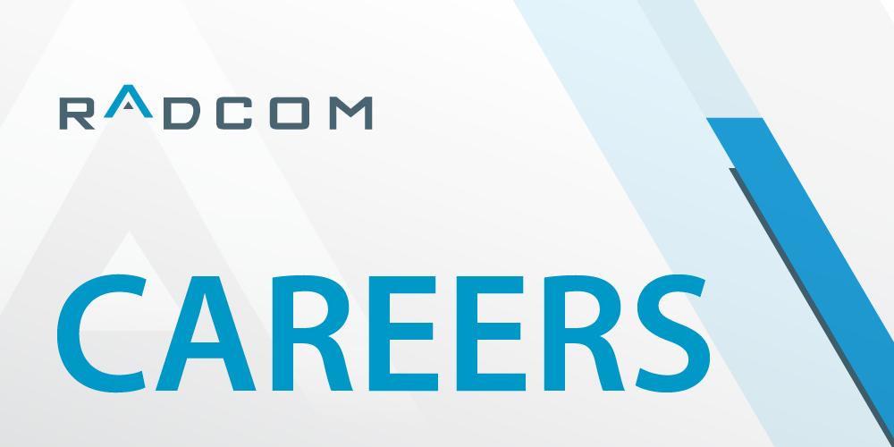 Careers   RADCOM